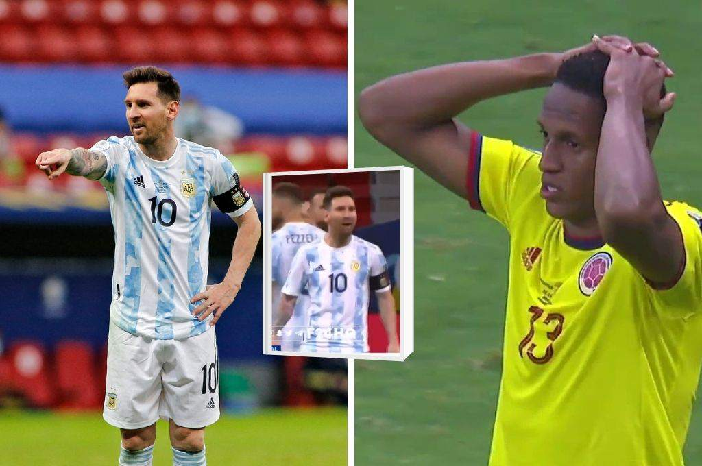 Messi teased and caught: Leo angry and yells at Jerry Mina after missing penalty – Ten