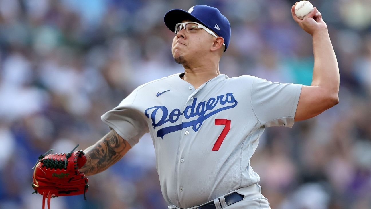 Mexican Julio Urias is the first person to reach 12 wins in an MLP season