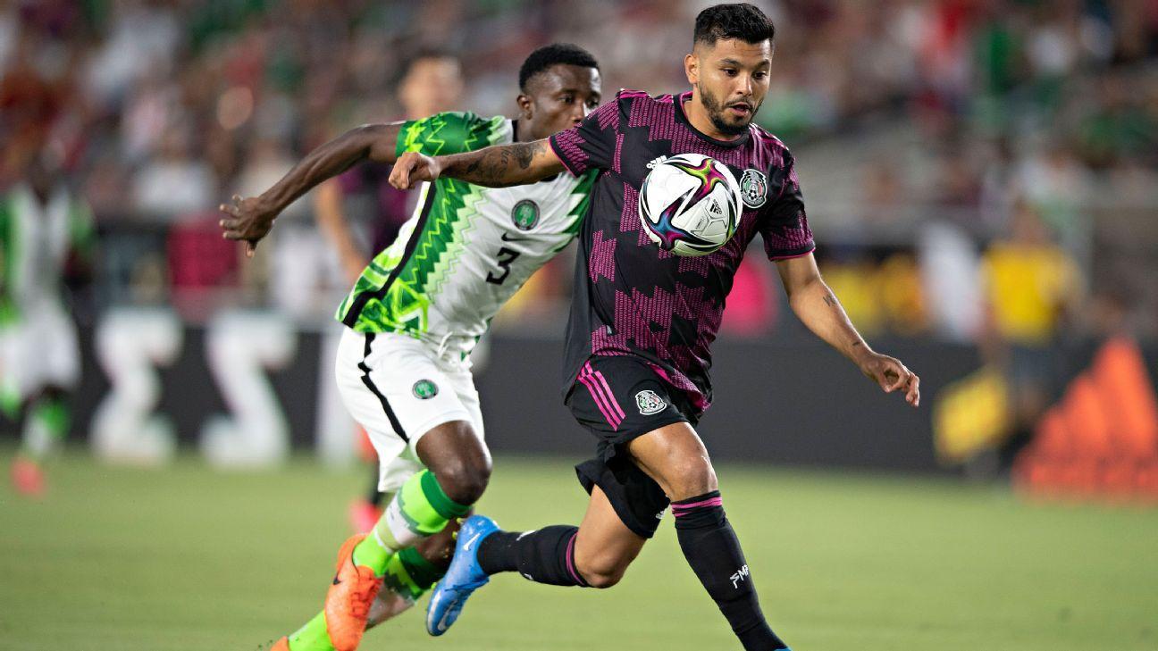 Mexico-Nigeria set a record in Los Angeles