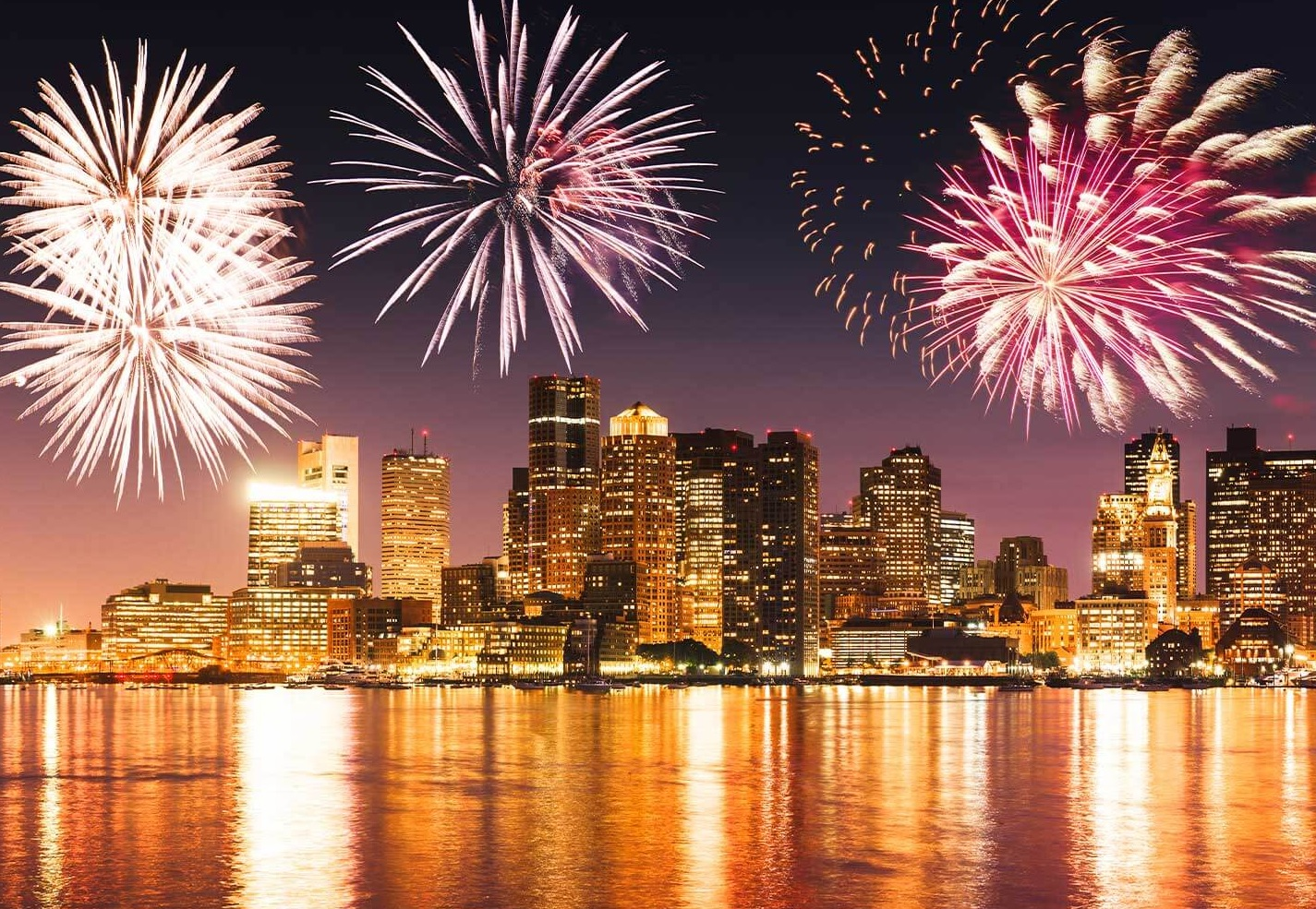 Where to look at the fireworks in Boston on the 4th of July
