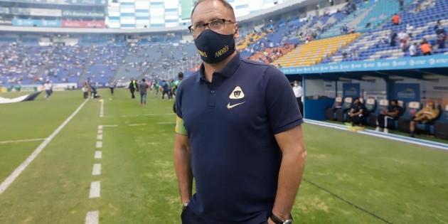 Vs. Cookers.  San Antonio FC: UNAM lineup for their fourth Liga MX advance season