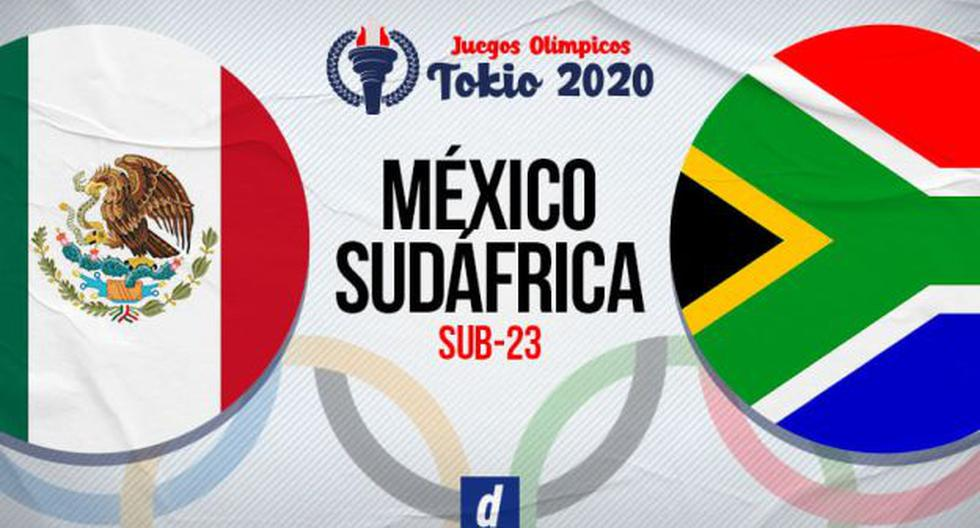Written by Marca Claro, vs. Mexico.  South Africa Live Online TV via Claro Sports for the Tokyo 2020 Olympics: Live Transmission and Description for the Team Stage |  Minute by minute |  Mexico