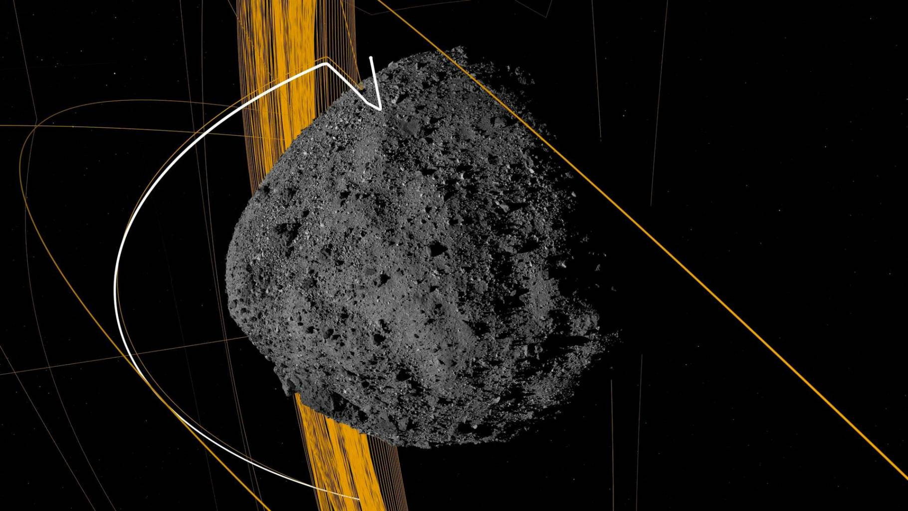 According to NASA, a large asteroid could collide with Earth starting in 2135