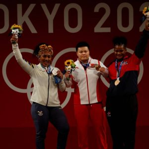 It weighs 87 kg Tamara Salazar Award in Tokyo 2020 Other Sports |  Sports