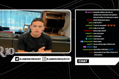 James Rodriguez: Face as a Twitch Streamer in Response to His Professional Criticism |  Colombians abroad