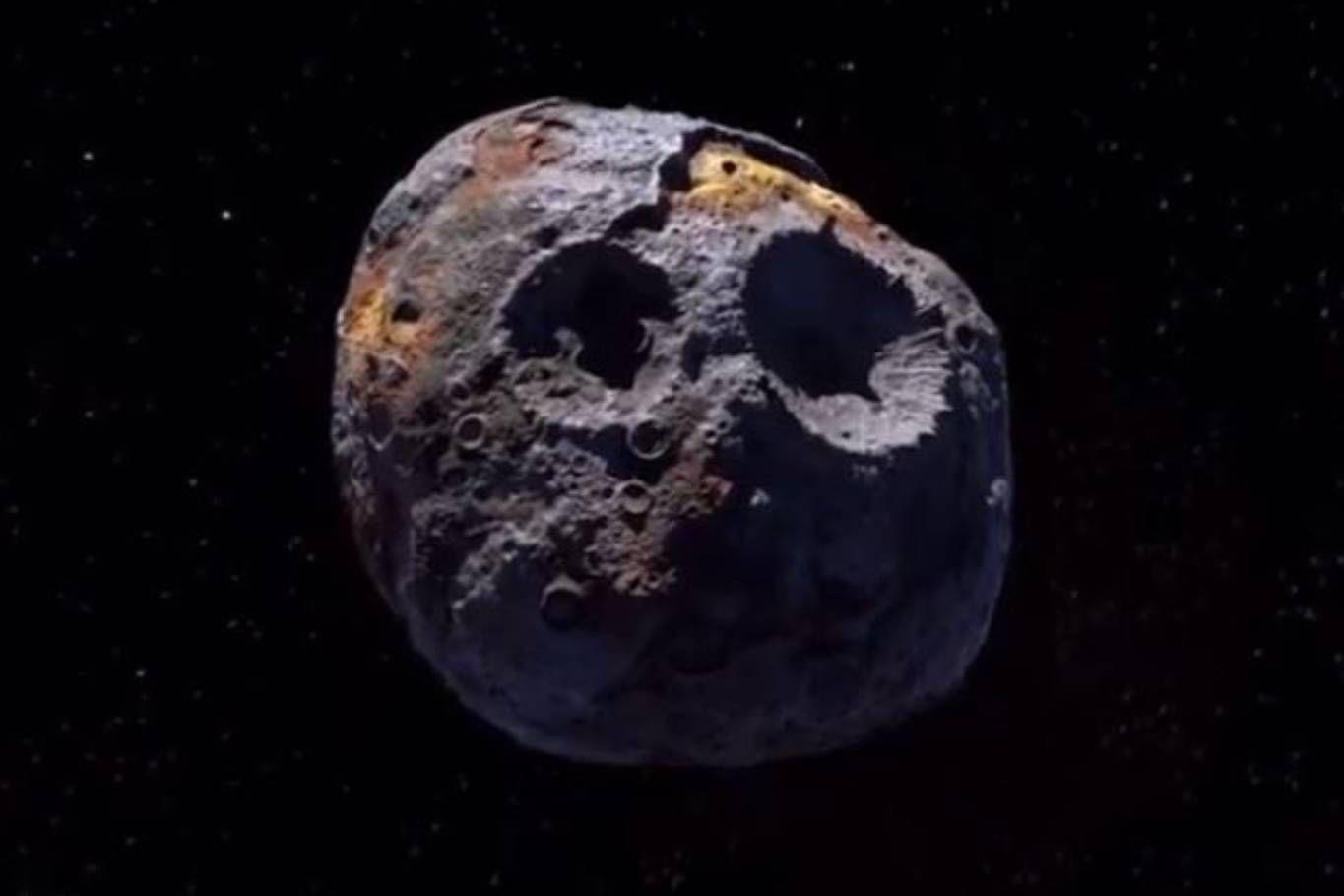 Make sure the asteroid Psycho is more valuable than the Earth's overall economy