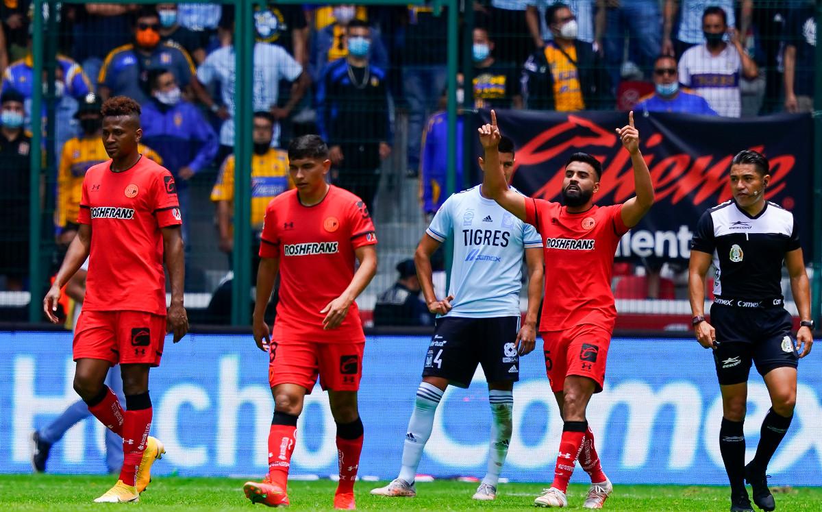 Match Summary Tigers (3-1) goals against Toluca