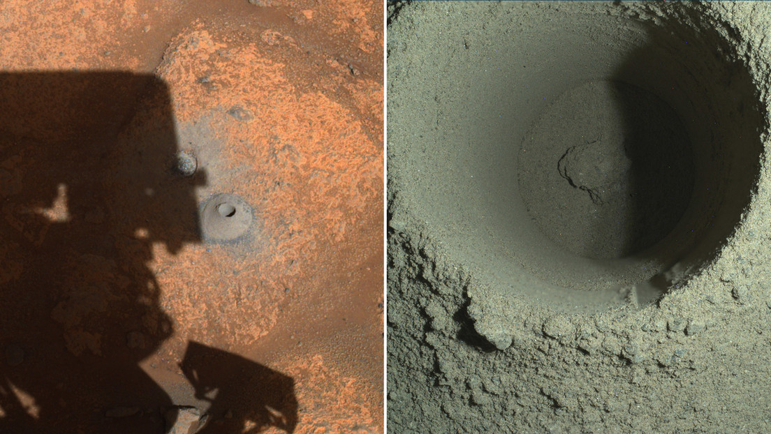 NASA explains why diligence in the first attempt to collect a rock sample on Mars failed