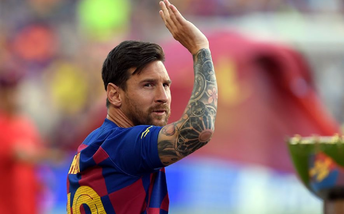 The Barcelona member resigned after Messi left