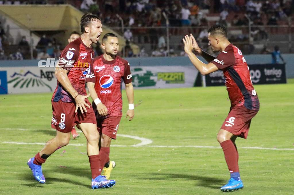 Victoria lost to Motagua and returned to the National League;  Gonzalo Klusener defined the match – ten