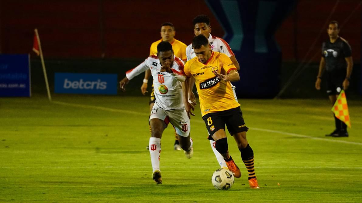 With goals from Emmanuel Martinez and Damien Thias, Dacinico U.  Barcelona SC won (2-1) National Championship |  Sports