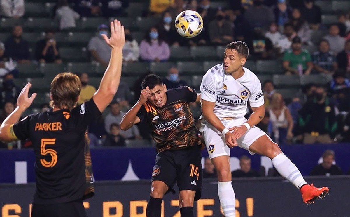 Cicardo Hernandez rediscovered the target by the LA Galaxy Video