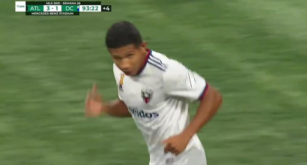 DC United vs.  Cole Edison Flores at the loss of.  Atlanta United Peruvians overseas at MLS |  Video |  NCZD |  Game-total