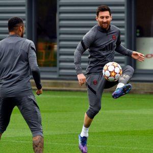 Messi, a 'tourist' in Paris