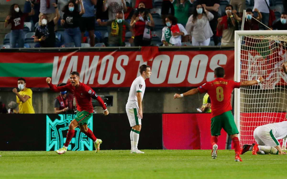 Portugal vs Ireland (2-1): Cristiano breaks record and retains victory