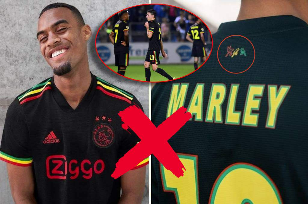 So much fuss over nothing?  UEFA bans Ajax jersey, 'Three Little Birds', inspired by Bob Marley-Diaz