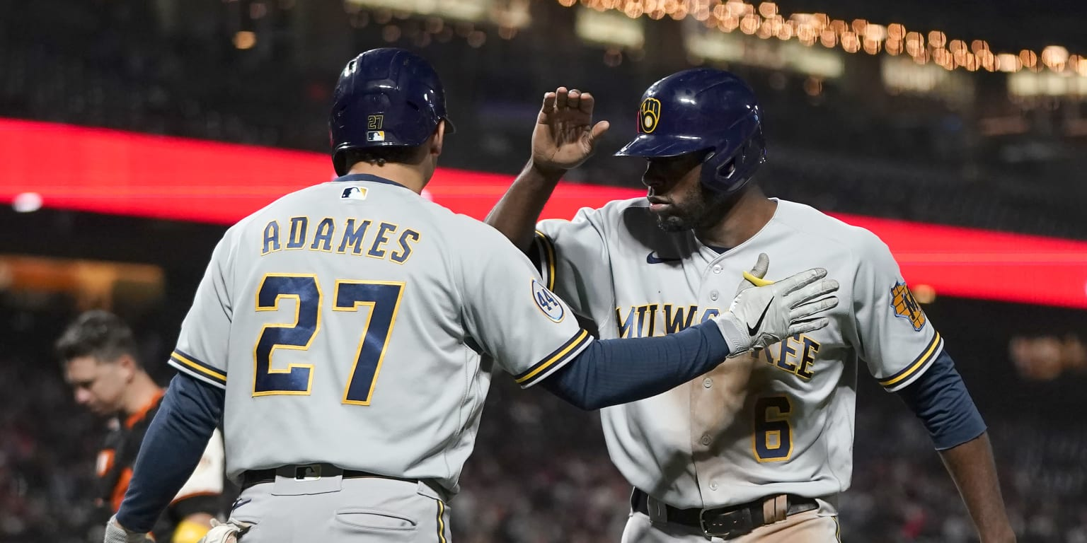 The Brewers did not suspend the Giants and dismiss them
