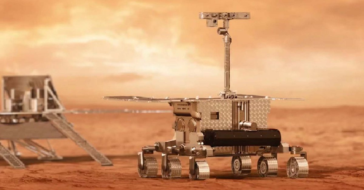 The European Space Agency rover can drill into Mars