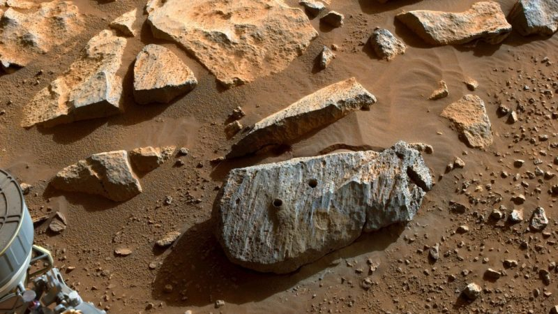"""The first rock models of Mars' perseverance reveal the """"sustainable living environment"""""""