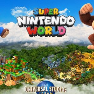 There will be a Donkey Kong area at the Nintendo theme park