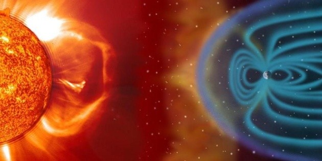 They warn of a geomagnetic storm affecting the earth