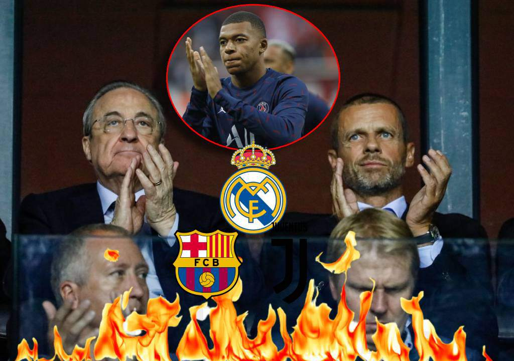 UEFA attacks Real Madrid: 'Florentino laments, then tries to sign Mbappé for 180 million' – Tees