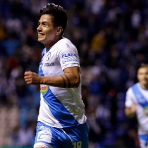 Summary of the match Puebla vs Mazatlán (2-0).  Goals